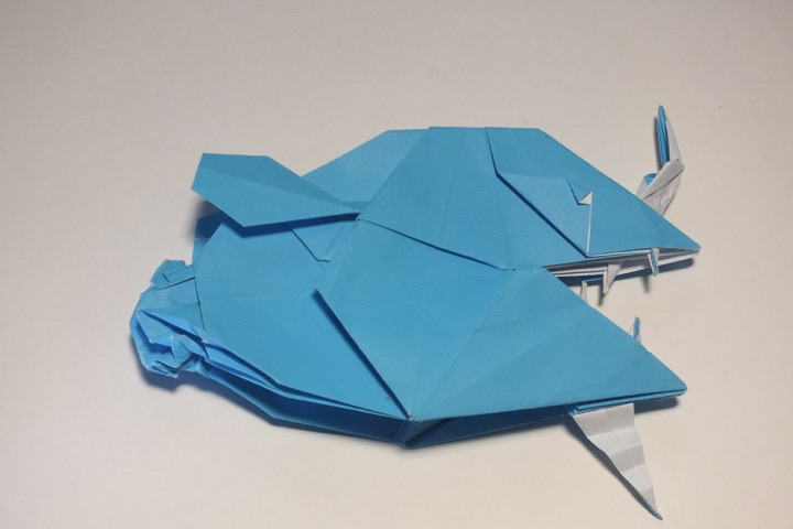 ChemKnits: Origami Sea Creatures - Adventures of a Knitter trying ... | 480x720